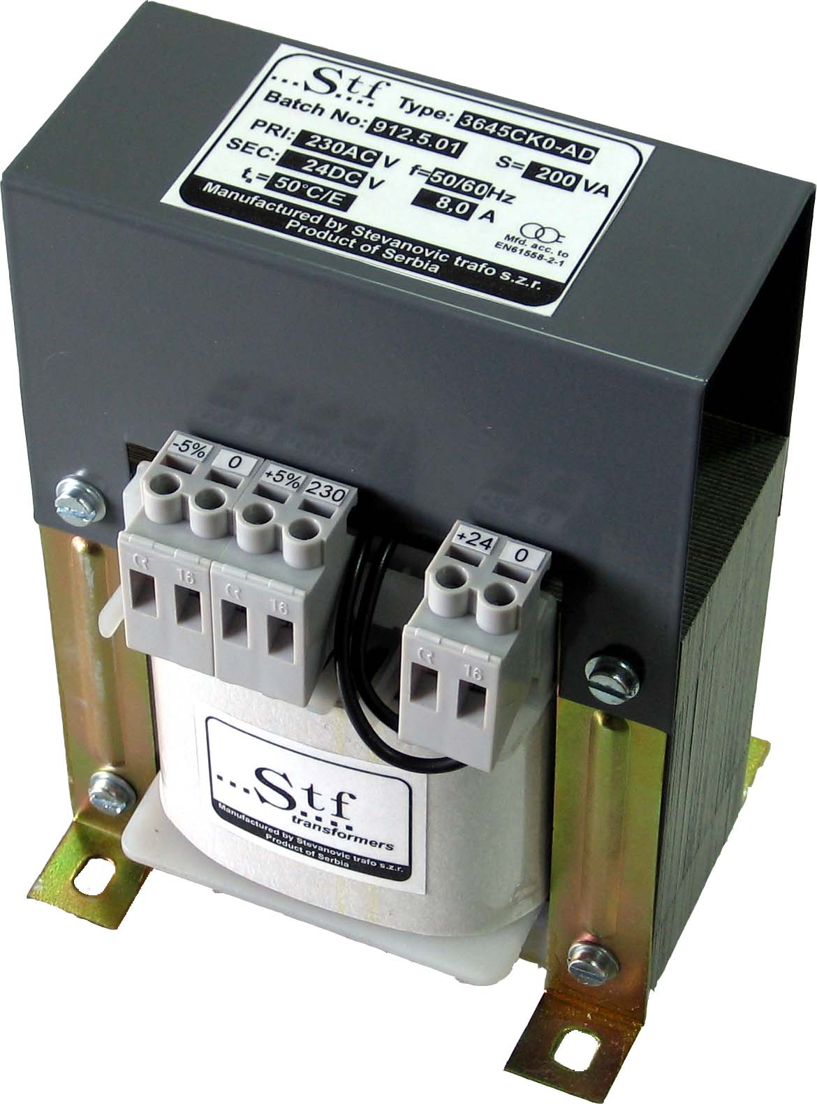 Transformer with DC output